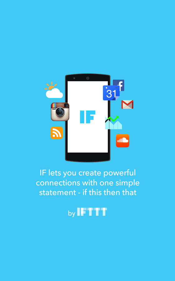IF by IFTTT