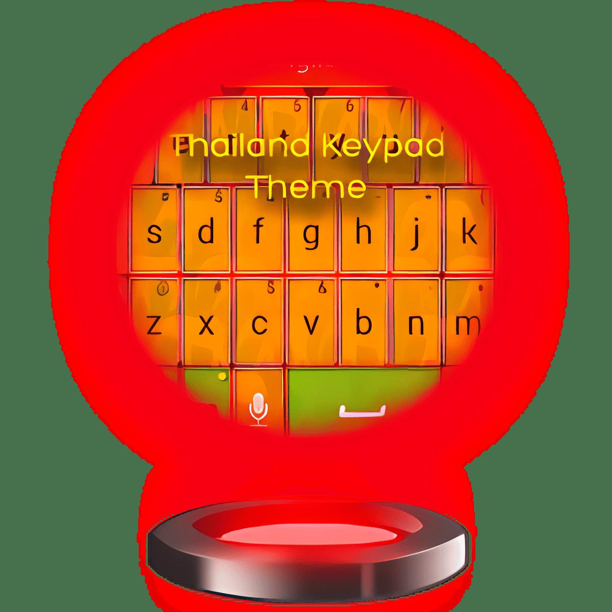 Tailandia teclado Tema
