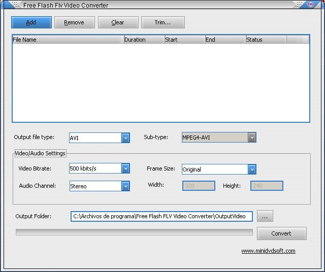 Free Flash Flv Video Converter