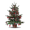 Tapeta Christmas Tree
