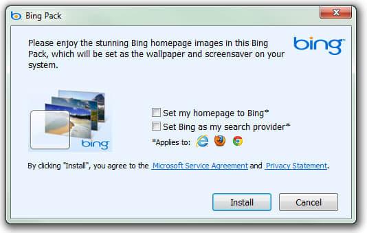 Bing Wallpaper Pack