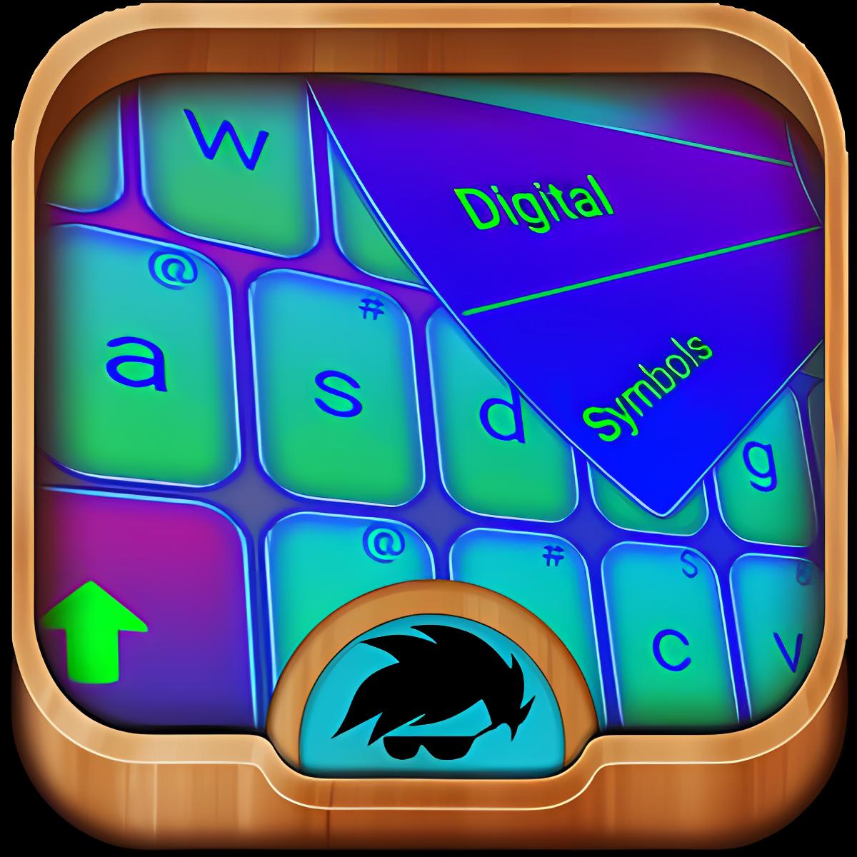 GO teclado de color eléctrico