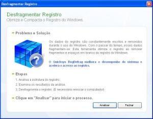 Quicksys RegDefrag Portable