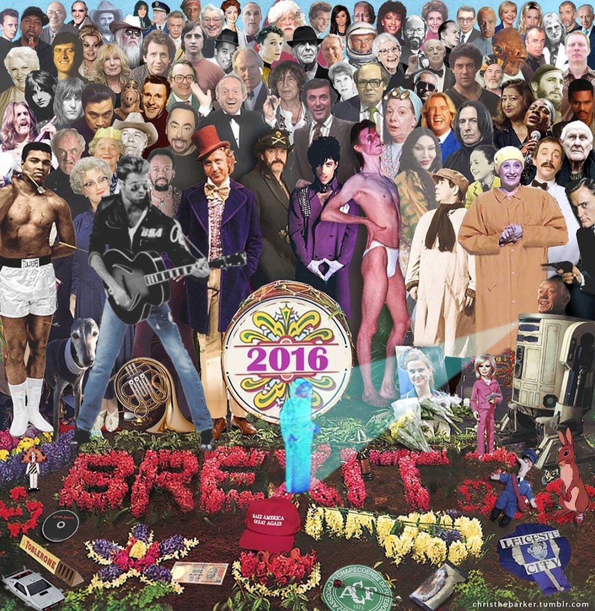 Famosos fallecidos en 2016