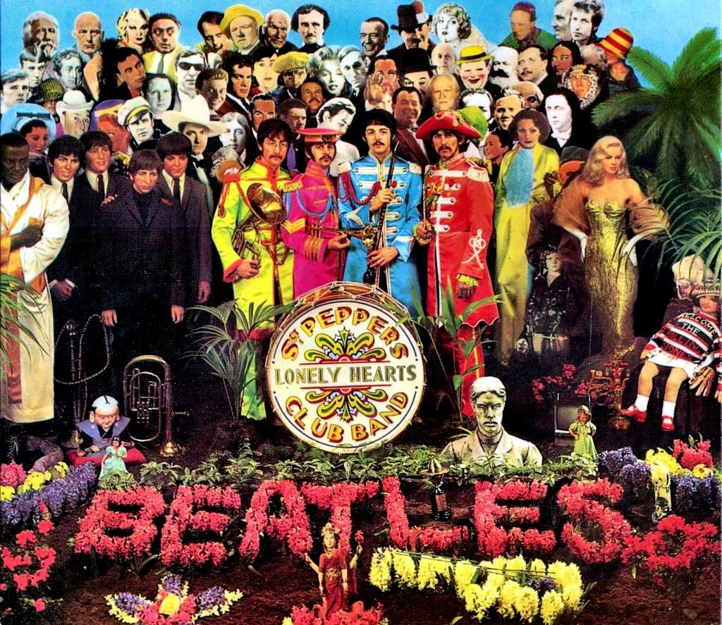 Portada Sgt. Pepper's Lonely Hearts Club Band