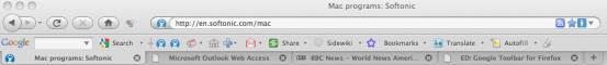 Google Toolbar for Firefox
