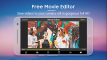 Free Movie Editor  Video Editor  Video Maker