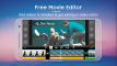 Free Movie Editor  Video Editor  Video Maker