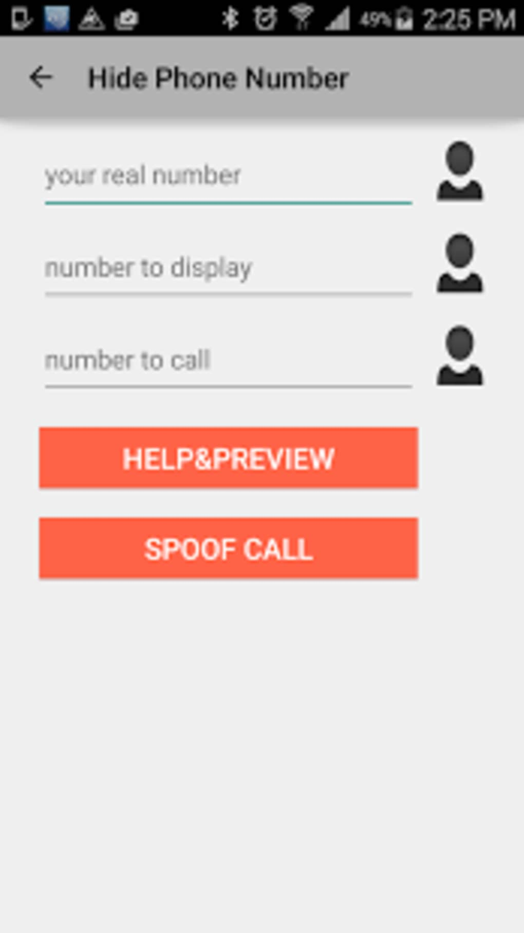 Fake - For Call Download Id Android Caller Spoof