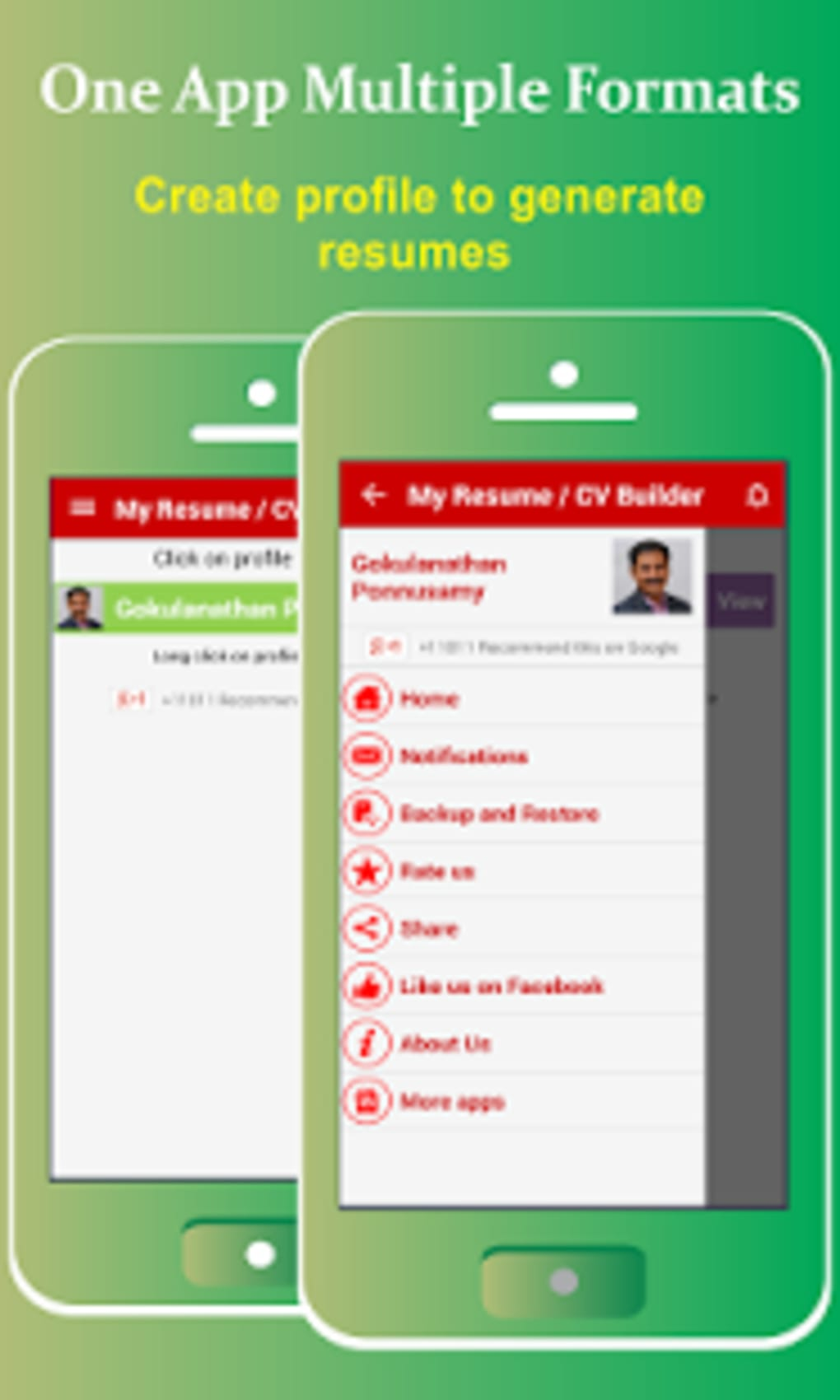 My Resume BuilderCV Free Jobs for Android Download