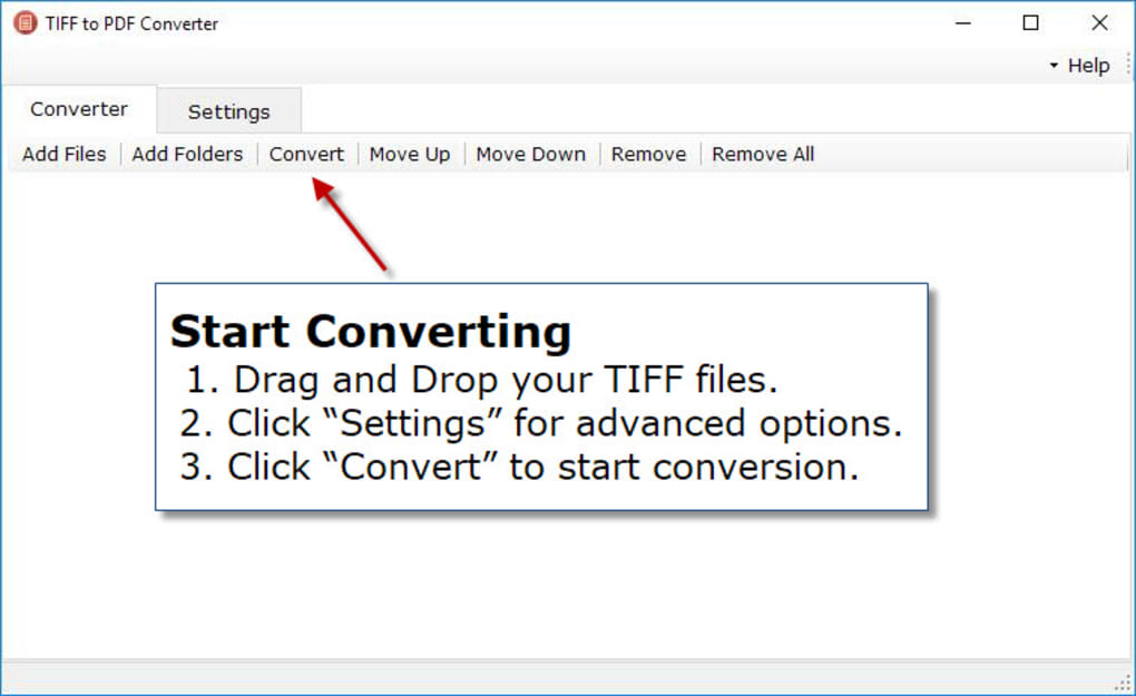 TIFF to PDF Converter - Download