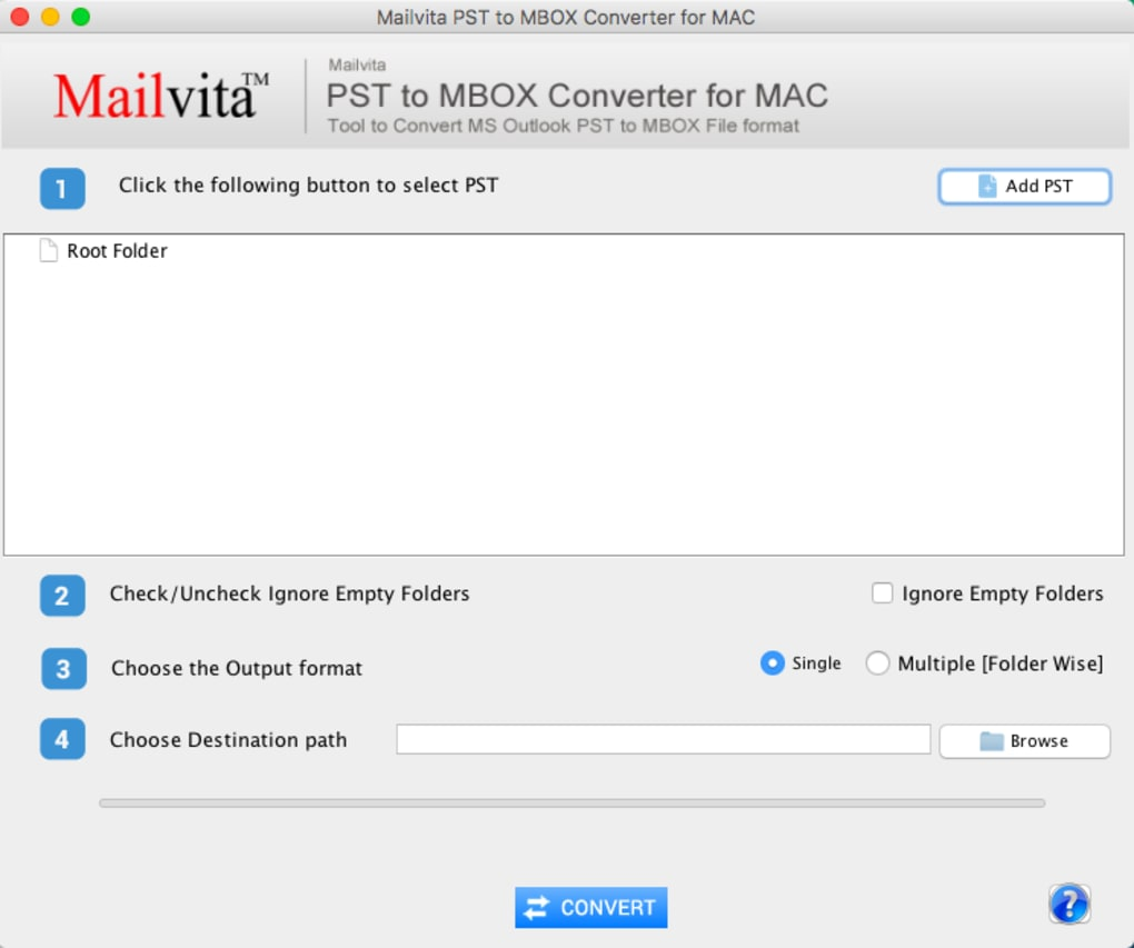 MailVita PST to MBOX Converter for Mac (Mac) - Download