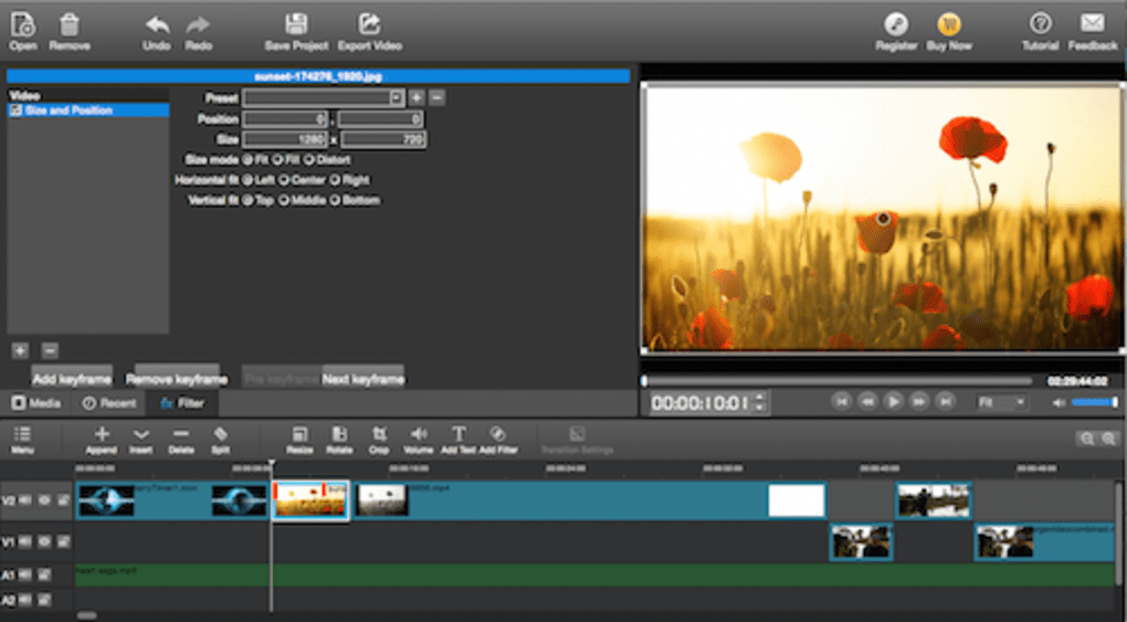 free download software edit video for pc