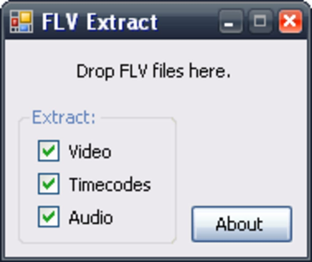 flv extract google drive