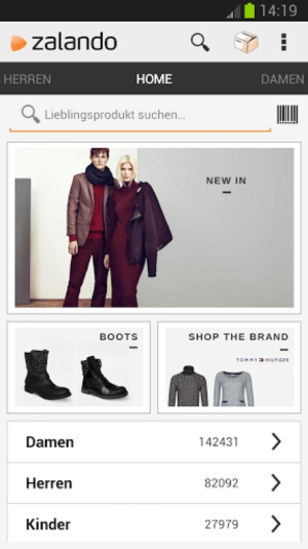 L app per comprare il meglio dell abbigliamento online! Zalando Scarpe e  moda ... fc9179f5a84