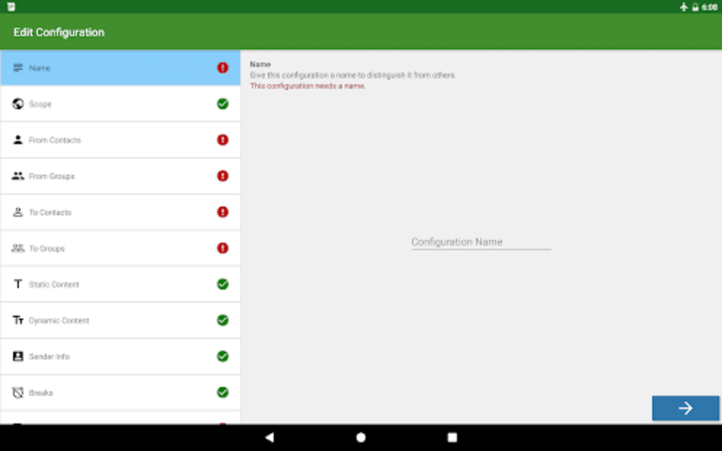 Message Forwarder - SMS MMS and Call Forwarding for Android