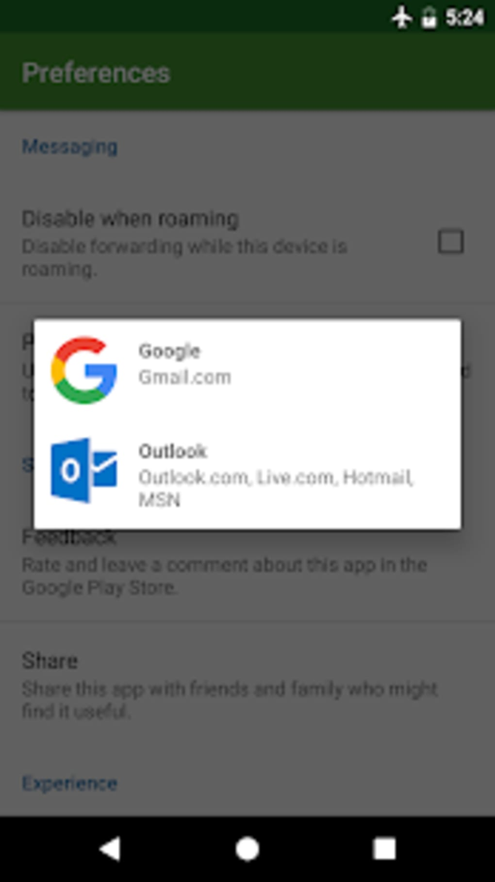 Message Forwarder - SMS MMS and Call Forwarding for Android - Download