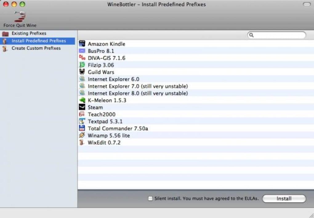 WineBottler for Mac - Download