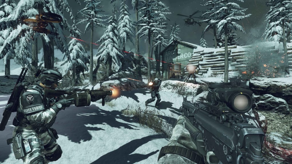 call of duty ghosts pc download size