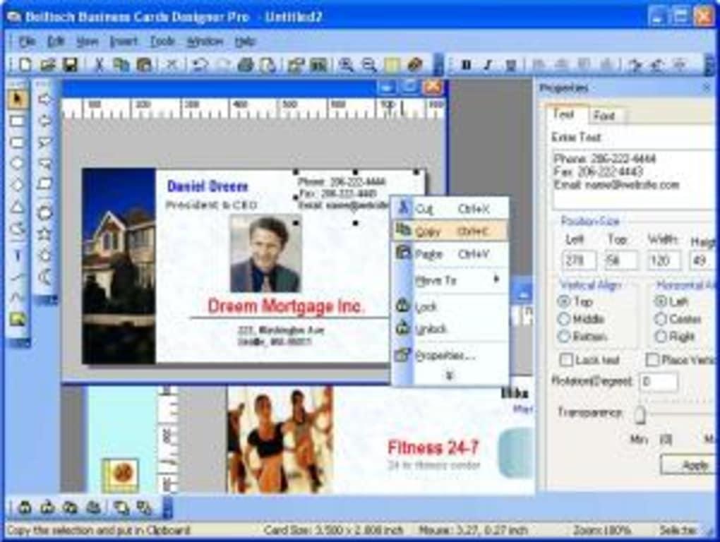 Belltech Business Cards Designer Pro - Download