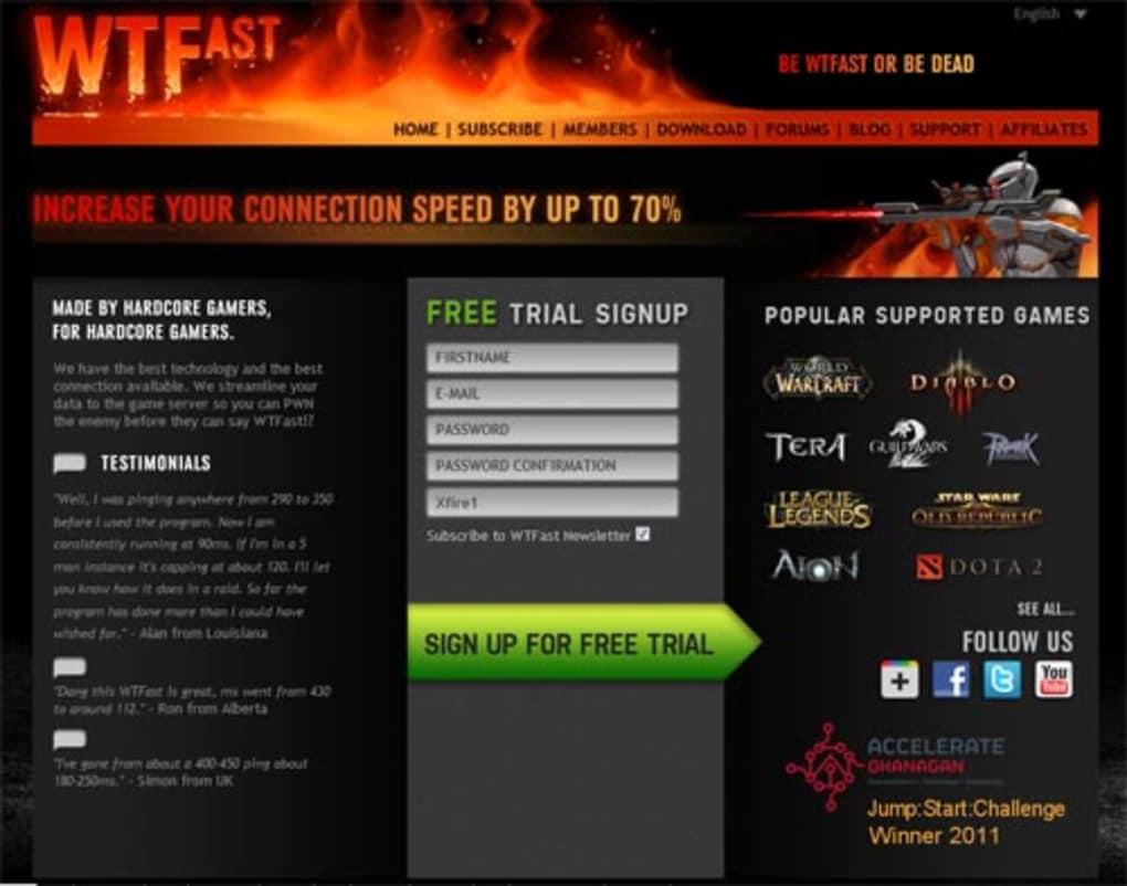 WTFast - Download