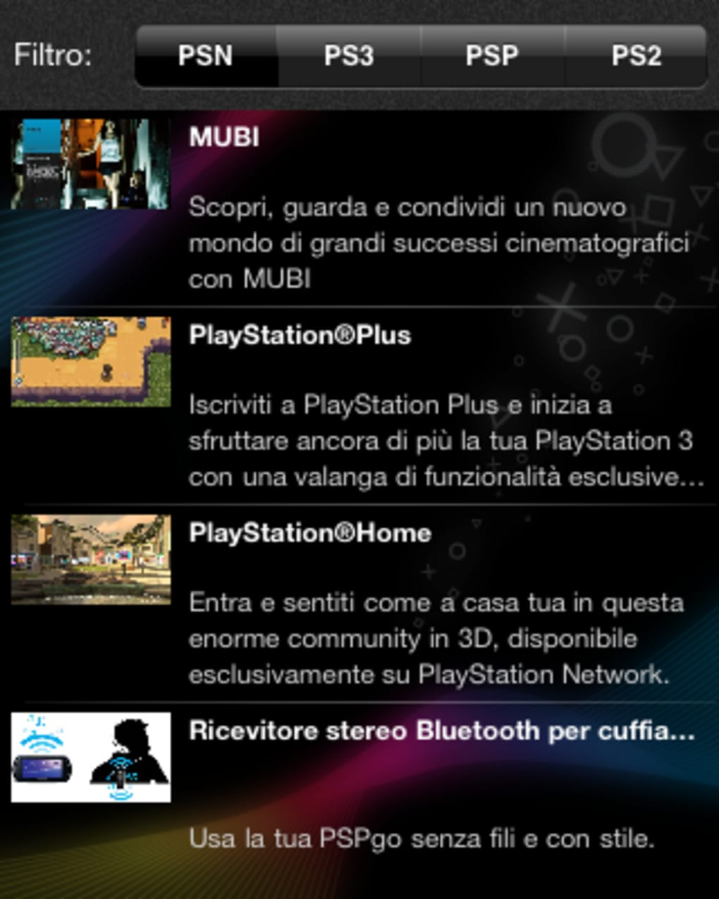 PlayStation App per Android - Download