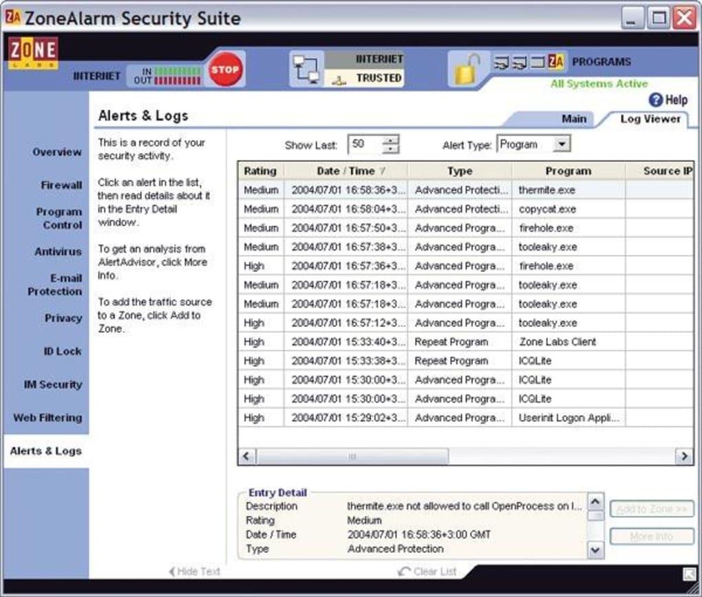 Download zonealarm uninstall tool.