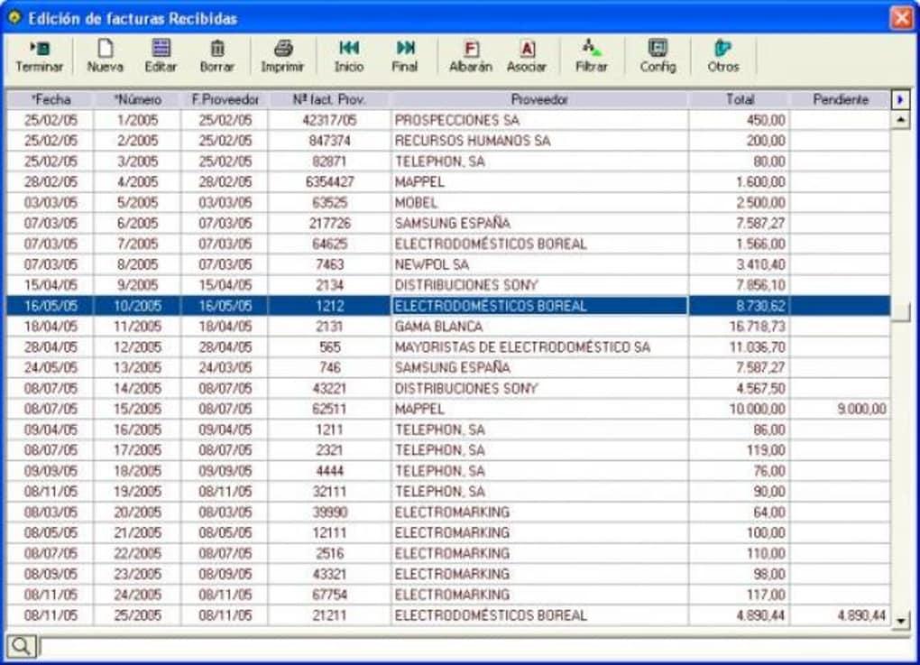 programa gestion mgd