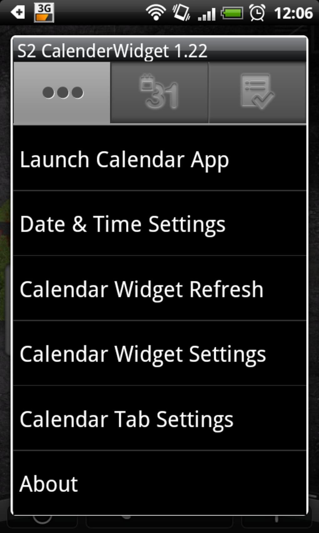 s2 calendar widget 2 f r android download. Black Bedroom Furniture Sets. Home Design Ideas