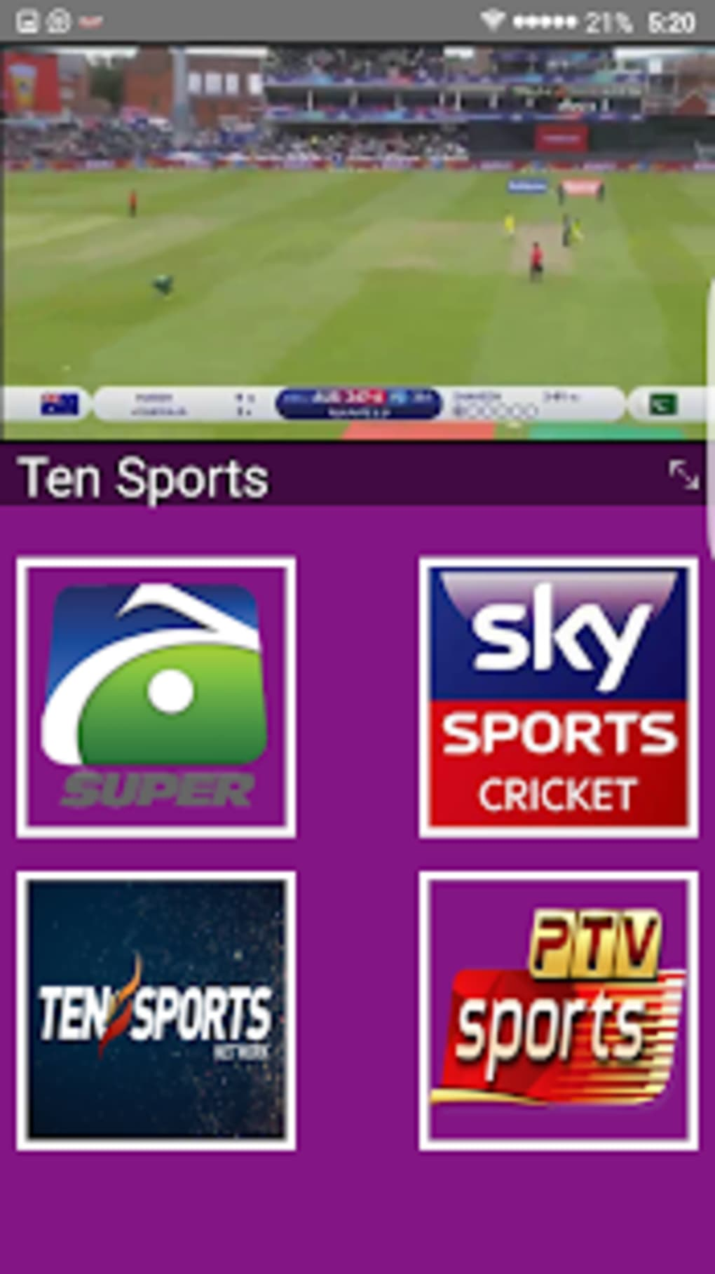 Live Cricket Tv Hd Live Cricket Channel Hd For Android