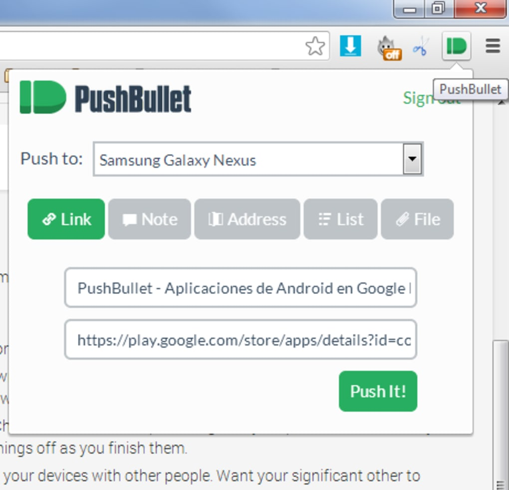 PushBullet - Download