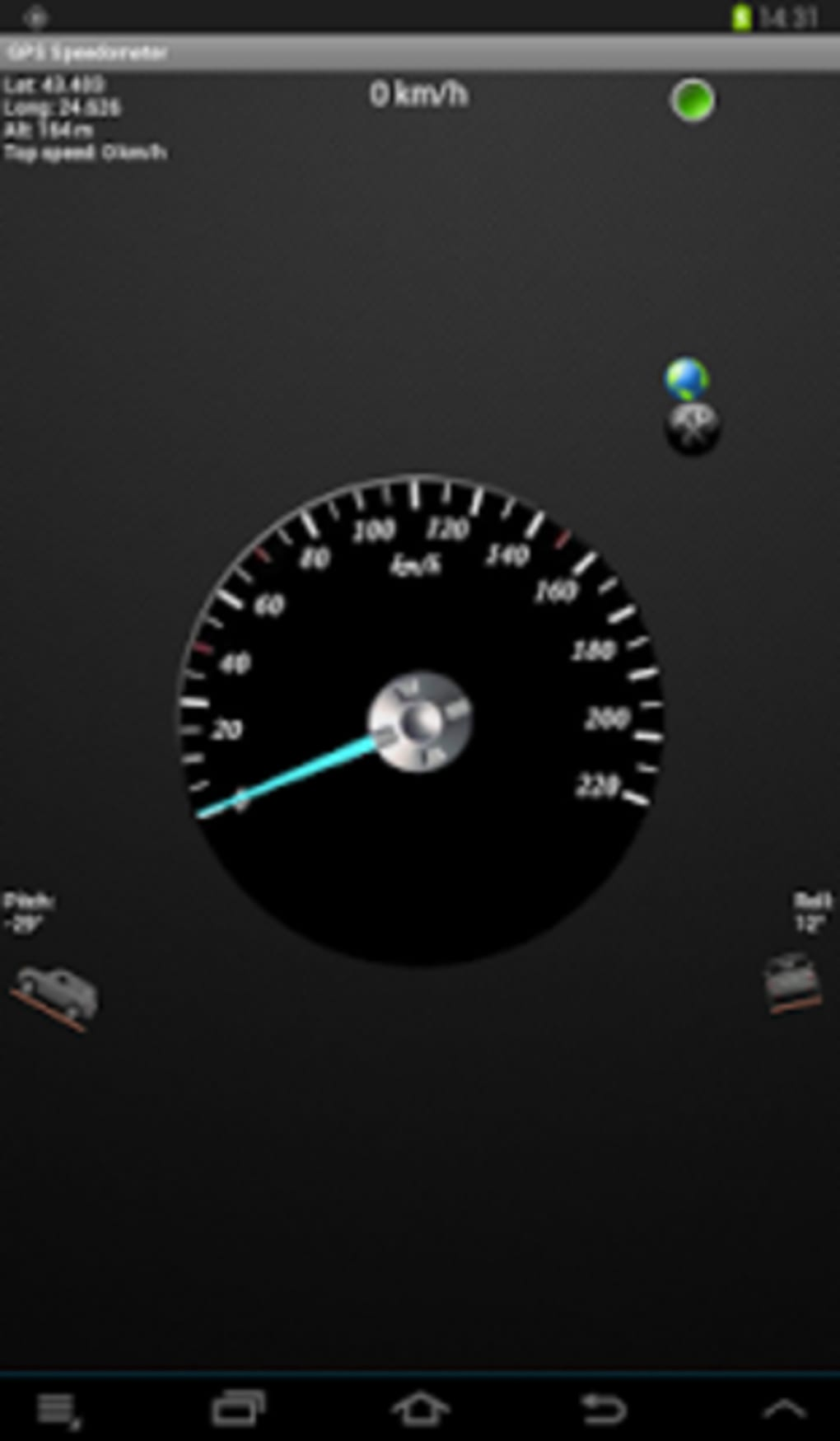 GPS Speedometer & Flashlight for Android - Download