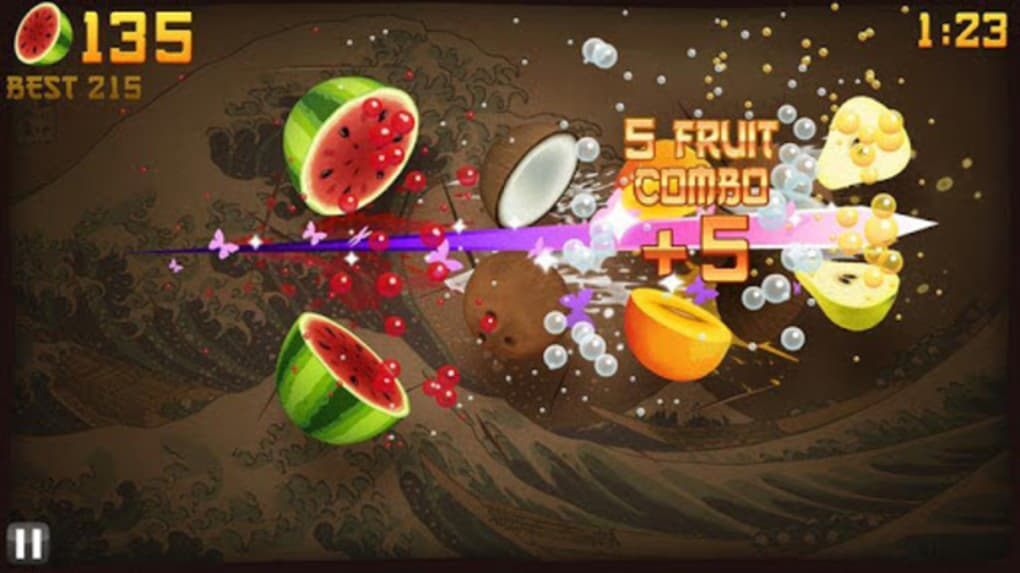 gioco fruit ninja per cellulare