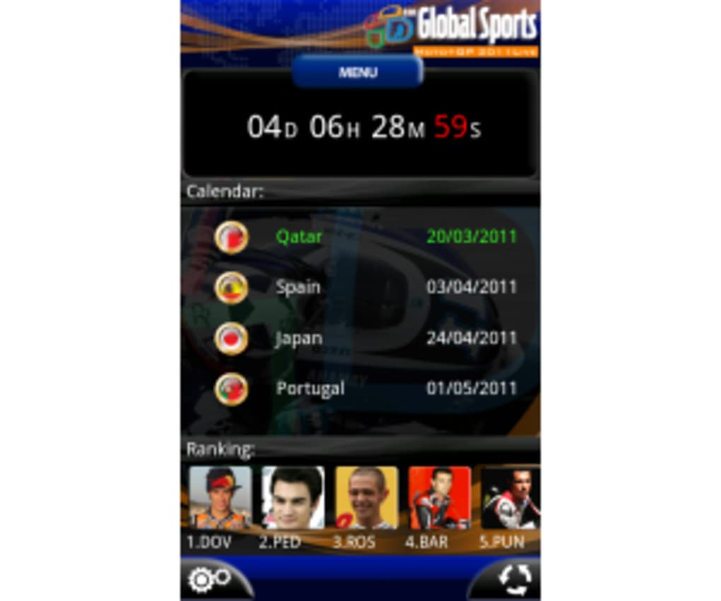 Moto+GP Live 2011 For Android
