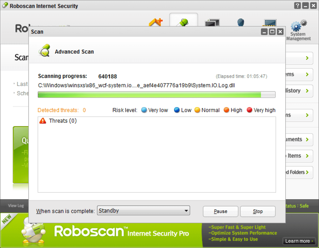 Free Internet Security >> Roboscan Internet Security Free 32bit Download