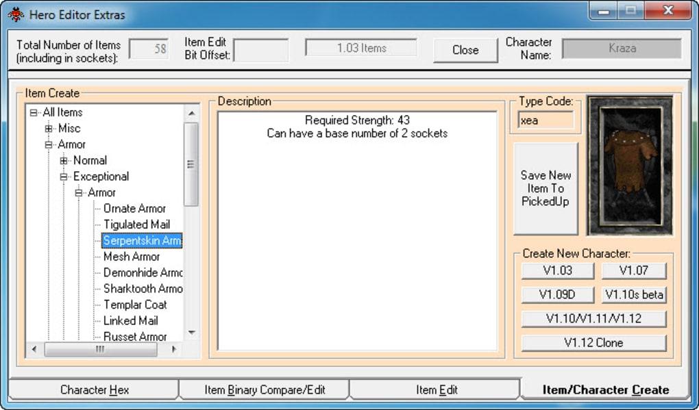 Hero editor download.