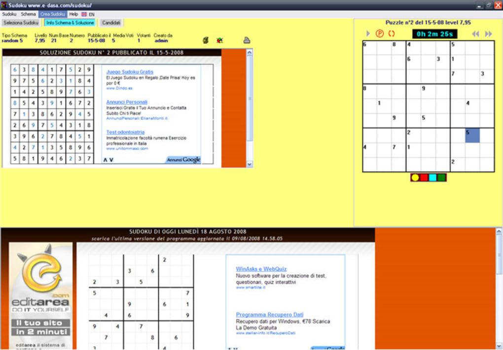 Sudoku Télécharger