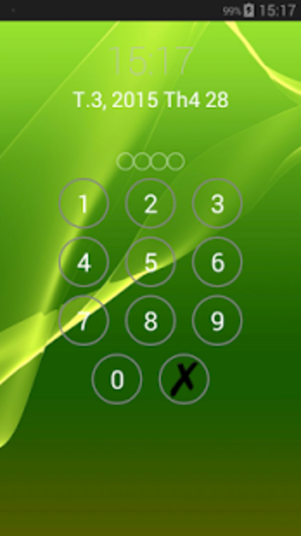 Lock screen password for Android - Download