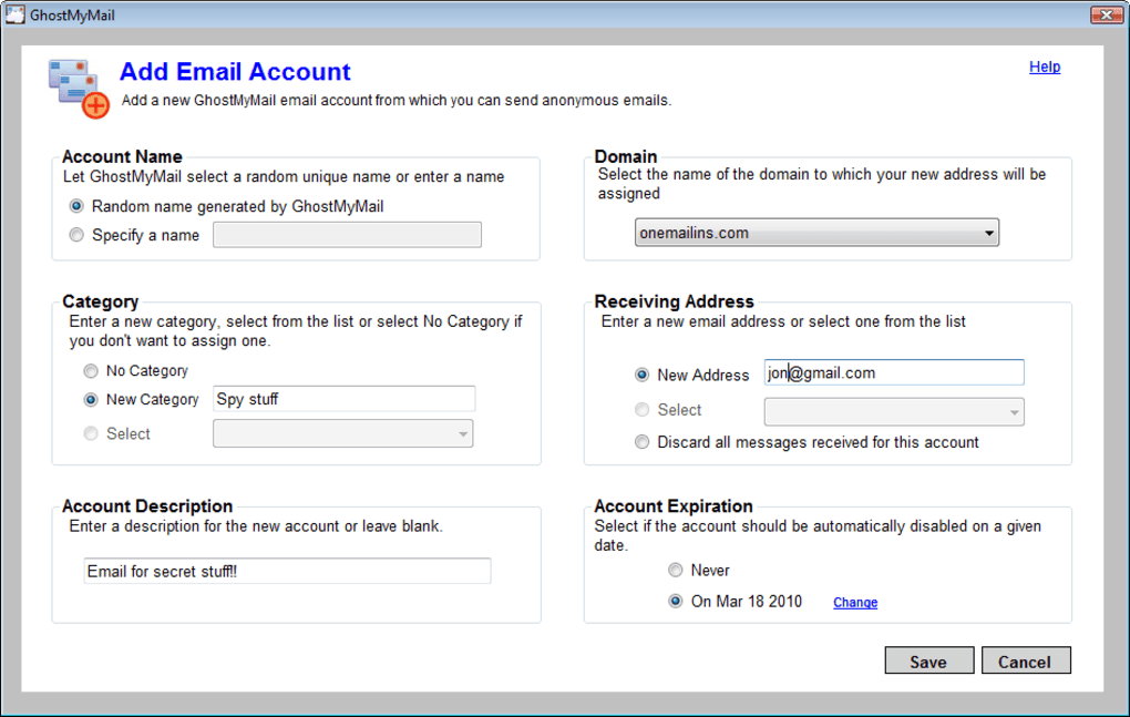 GhostMyMail - Download