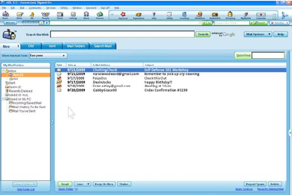 aol software 9.7