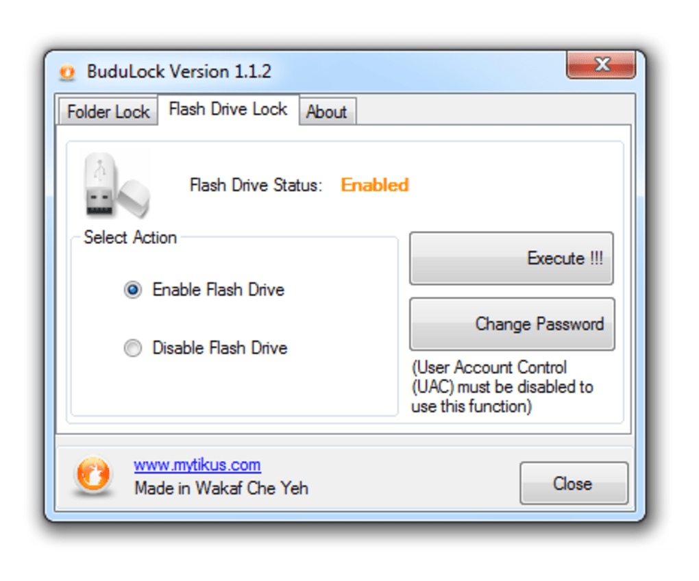 budulock software free