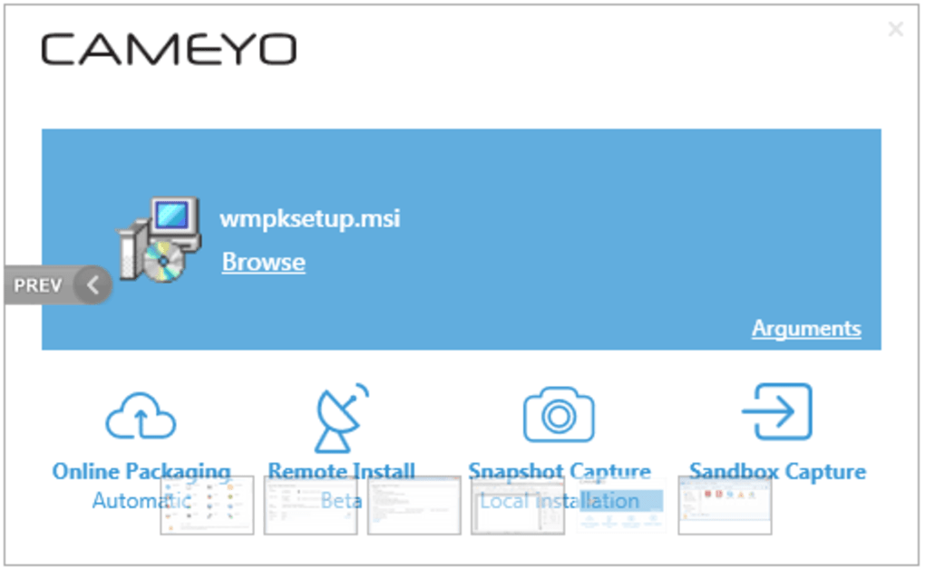 Cameyo free packager   Download Cameyo 3 1 1530  2019-05-11
