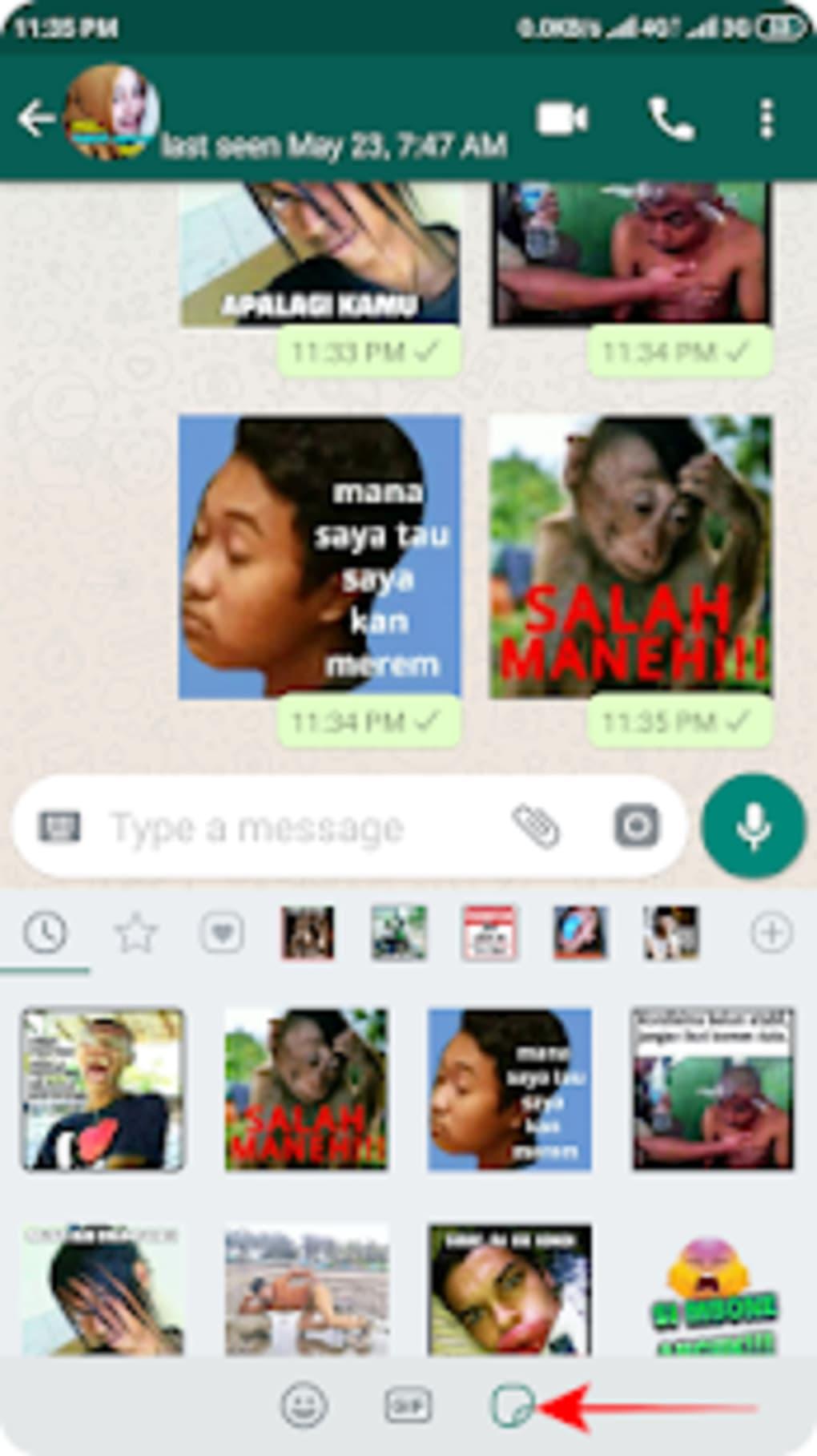 Meme Perang Gambar Stiker WA APK Untuk Android Unduh
