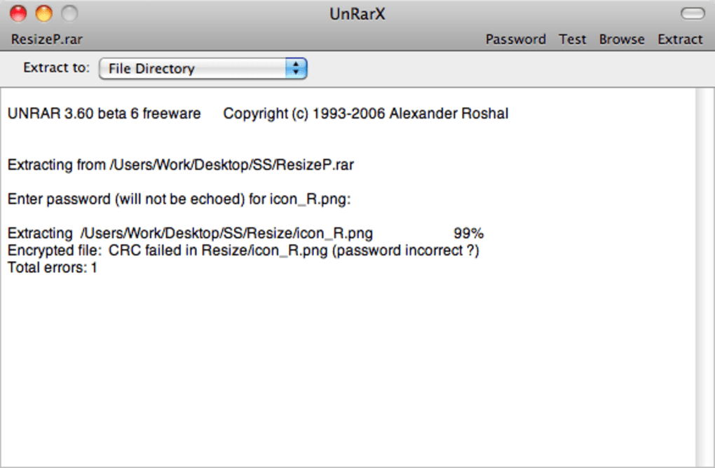 UnRarX for Mac - Download