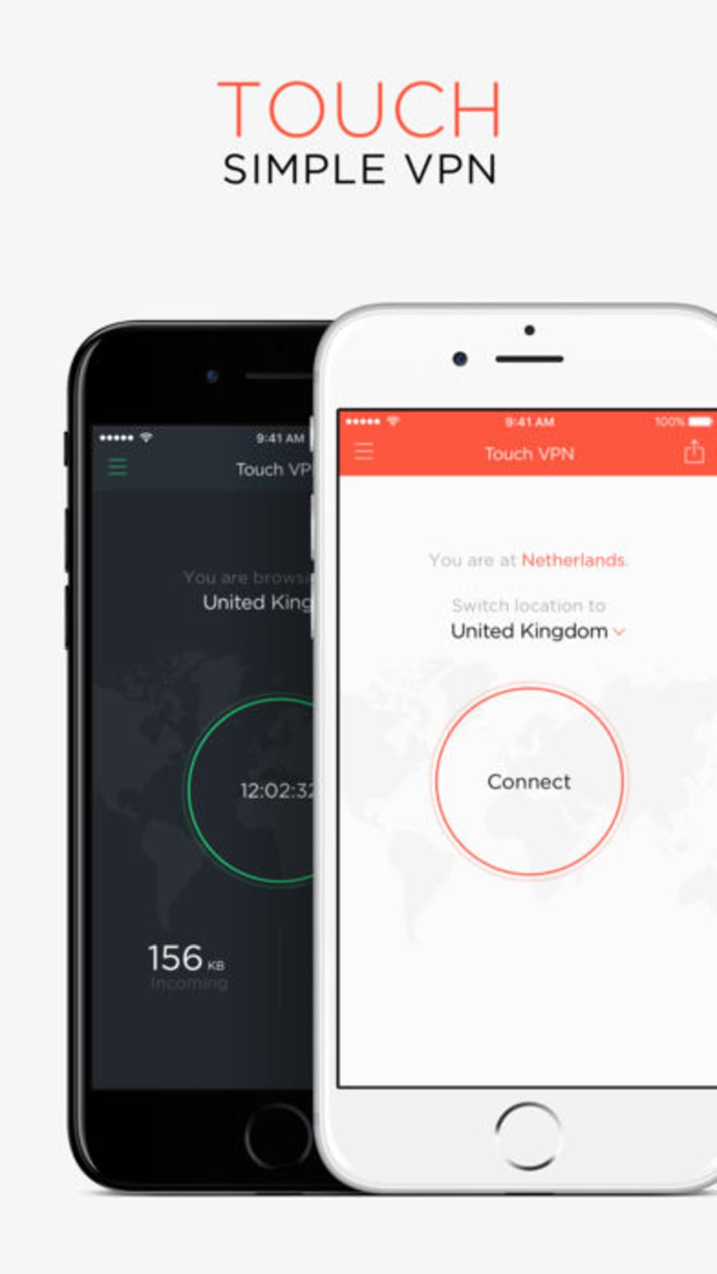 Unlimited VPN Proxy Touch VPN for iPhone - Download