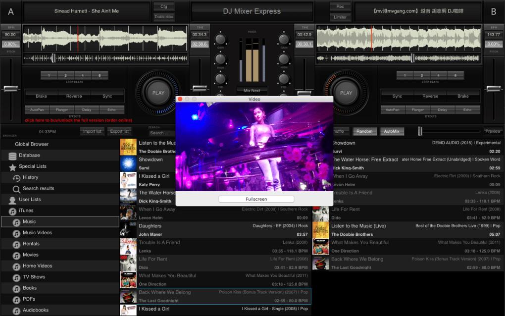 DJ Mixer Express for Mac (Mac) - Download