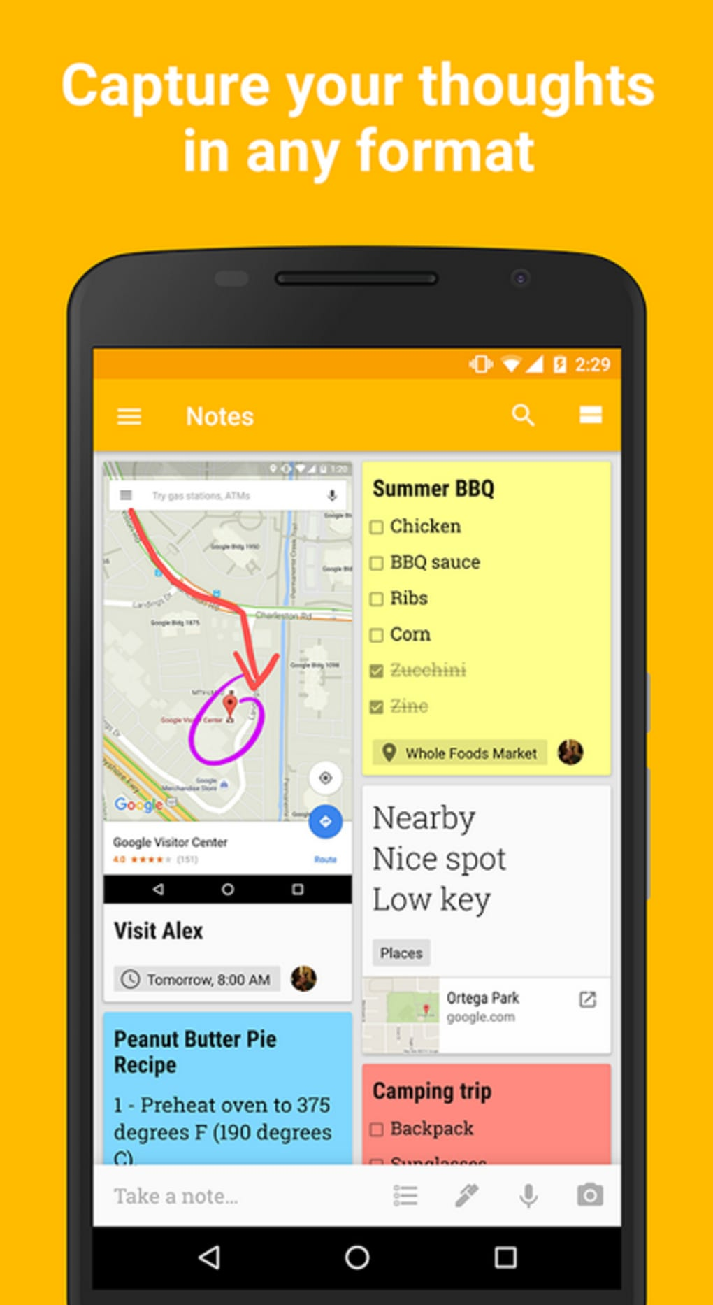 Google Keep for Android - Download