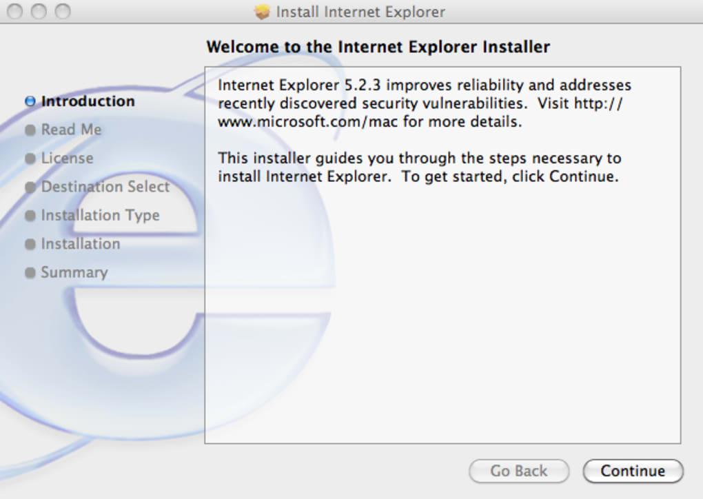 internet explorer para mac os x 2012