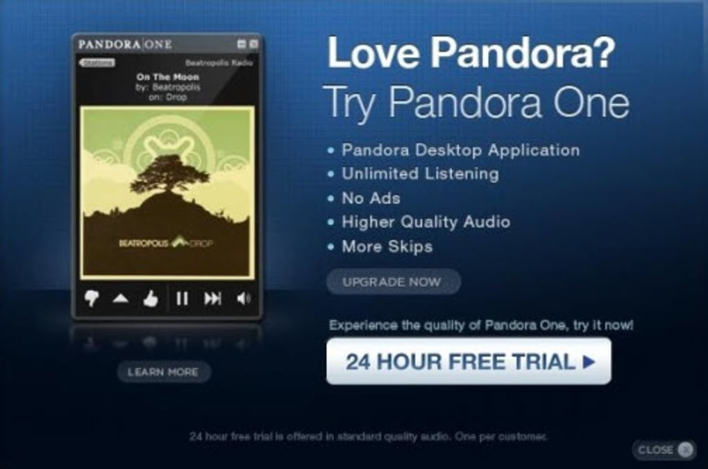 pandora radio for mac free