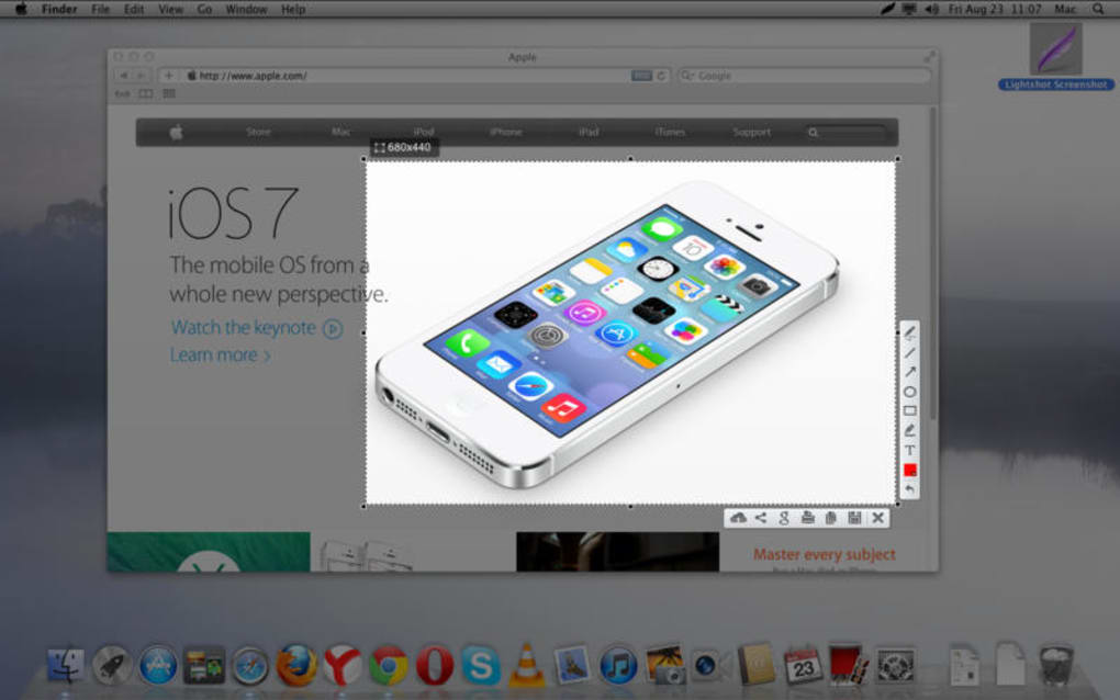 Lightshot Screenshot para Mac - Descargar